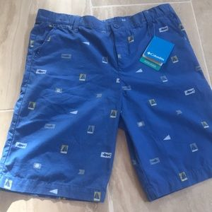 NWT Colombia youth XL shorts